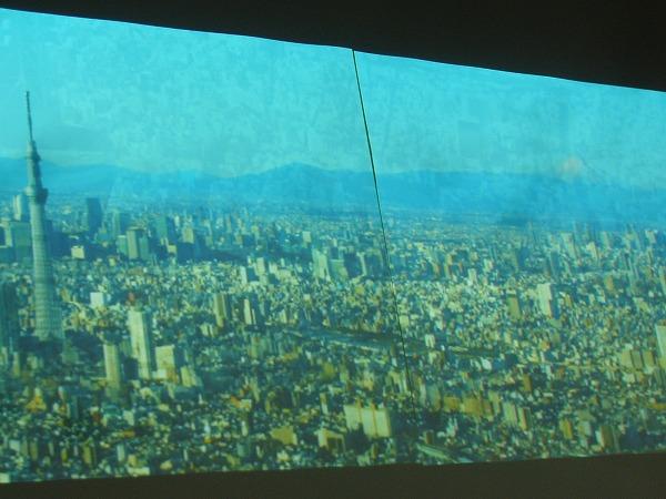 スカイツリーの360度映像