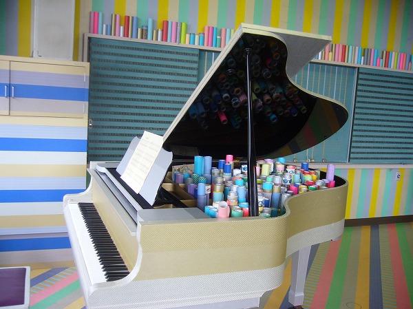 マスキングテープ音楽室ピアノ
