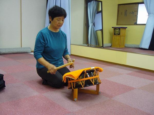 太鼓の練習も2