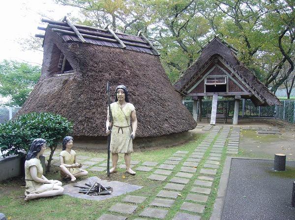 竪穴住居と弥生人