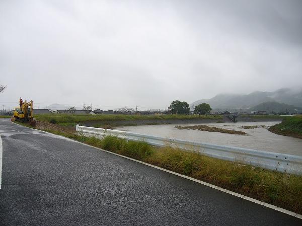 高瀬川の工事水増27号
