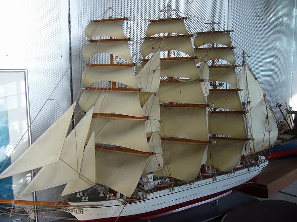 海洋記念館の展示 日本丸
