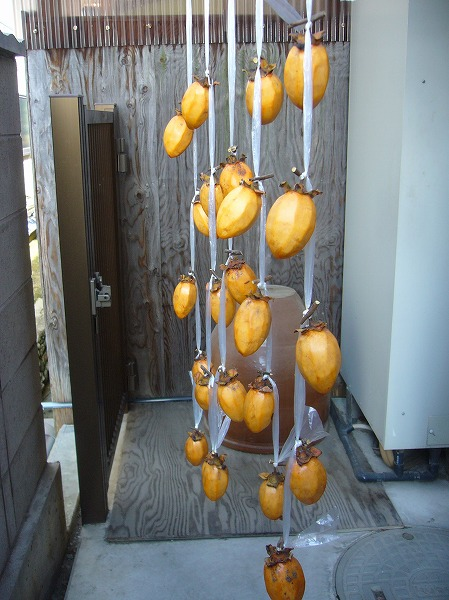 干し柿作り1縦