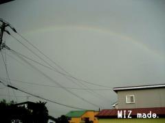 7月8日の虹