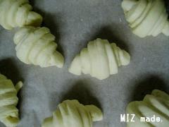 クロワッサン2次発酵