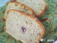 山ブドウのパウンドケーキ