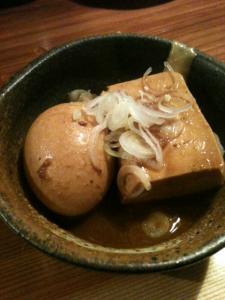 煮玉子と煮豆腐