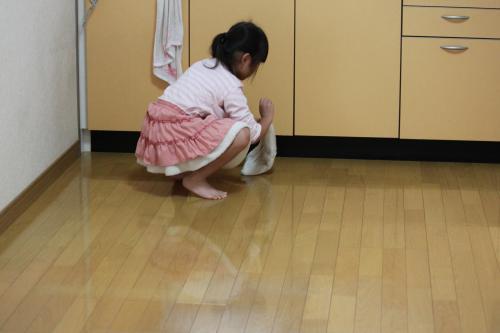 お掃除 4