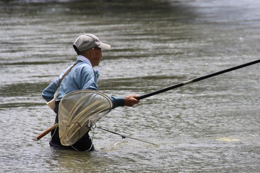 2011 新潟 荒川鮎釣り解禁