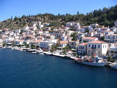 ギリシャ 地中海 町並み