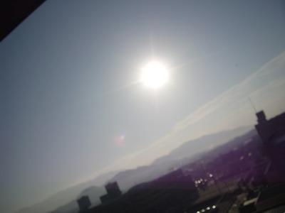 本日の太陽