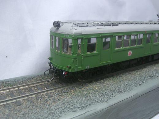 U-trains 東急デハ3450 日車 両運車