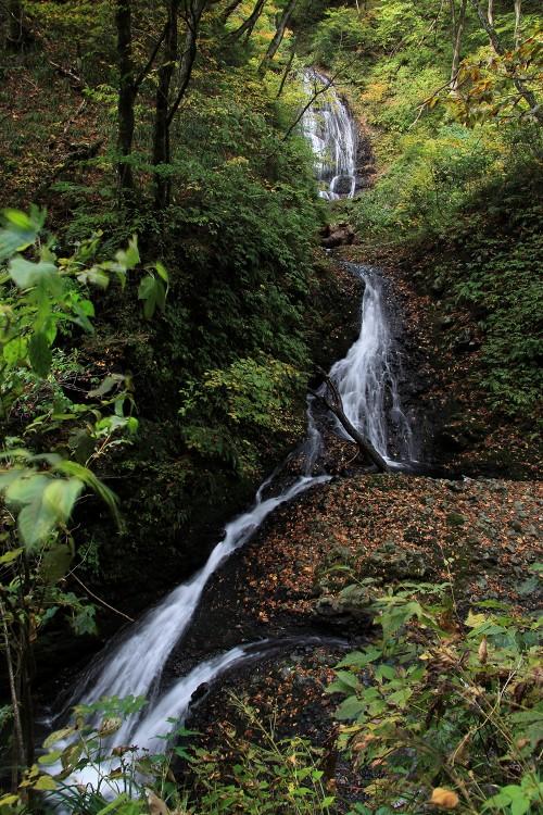 白糸二段の滝