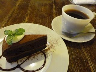 ケーキ&コーヒー
