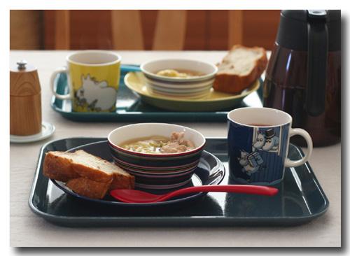 鶏肉と白菜のスープ