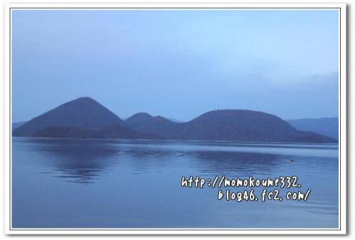 夕方の洞爺湖