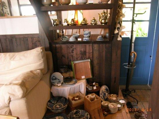 店内の古道具