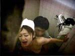 掃除婦の熟女は実は淫乱だった事をリアルに証明した映像
