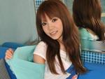 エロ2MAX : 【無修正】大里亜衣 エッチ大好き娘 笑顔でクリームパイ!