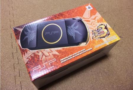 PSP3000ハンターズモデル!