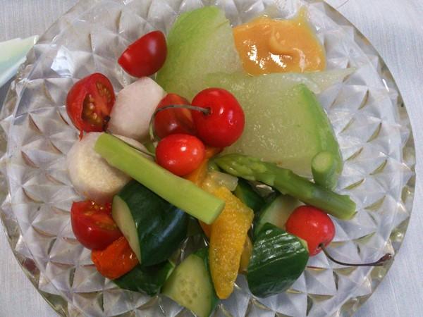 夏野菜の合せ鉢