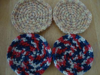 編みコースター