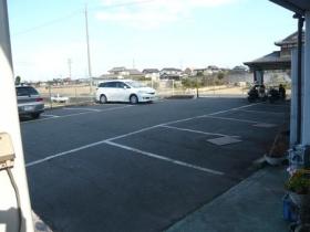 ベトコンラーメン駐車場