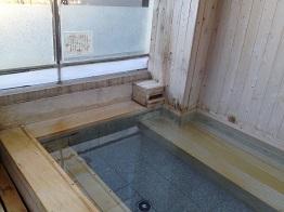 露天風呂。