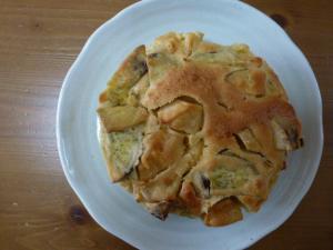 りんごとサツマイモのケーキ1014