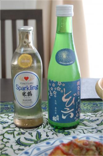 日本酒スパークリング
