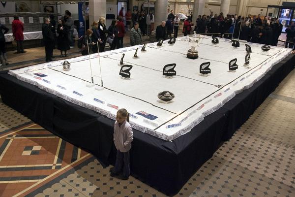 A 10 metre by 5 metre pavlova
