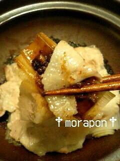 豚ねぎ味噌鍋-5
