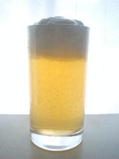 ビールみたいなアップルゼリー