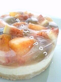 フルーツ・チーズケーキ