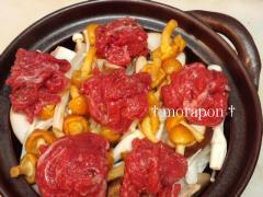 牛肉と茸の韓国風鍋-3