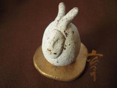 110304土炎手窯の兎たち-2