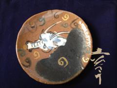 111228龍の絵皿