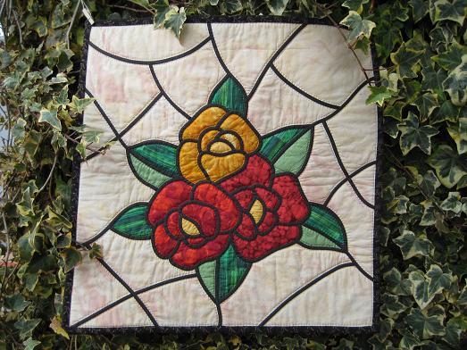 ステンド 薔薇