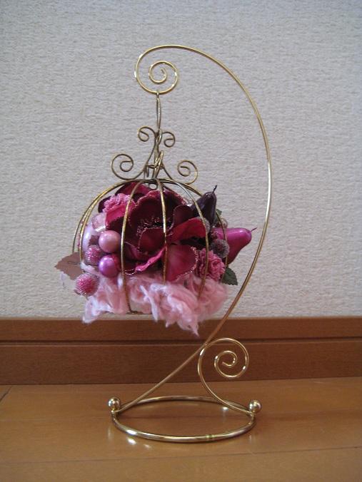 吊るし花籠