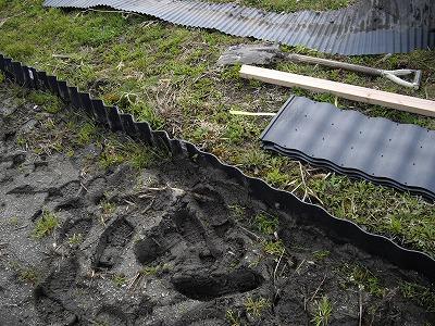 盛盛さんの 稲作日記 畦波シート