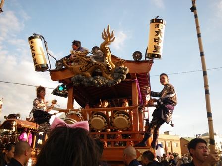 森のたね 富士山田舎暮らし 富士宮秋祭り1