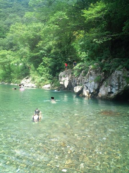 大分県内の川