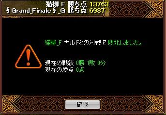 2011.10.13 GFvs猫柳結果