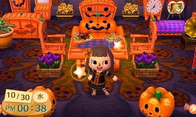 ハロウィン部屋