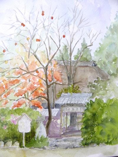 洛柿舎の秋