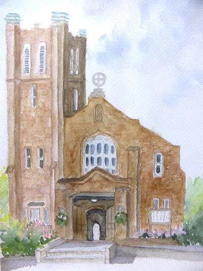 川口教会2
