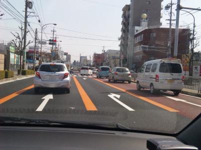 フ・シ・ギ…な道