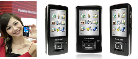 Transcend MP3プレーヤー MP860 4GB TS4GMP860