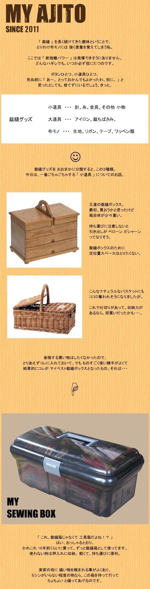 裁縫ボックス1