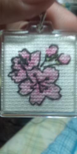 桜キーホルダー(縮小)
